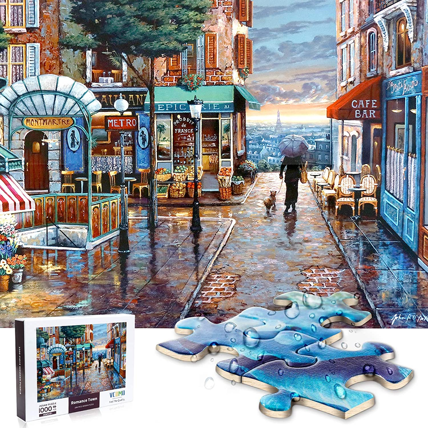 Jigsaw Puzzle Max 47% OFF 1000 Pieces for Resist Water Outlet SALE Wooden Adults