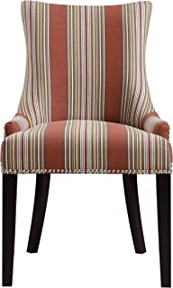 Pulaski Imperial Stripe Upholstered Dining Chair in...