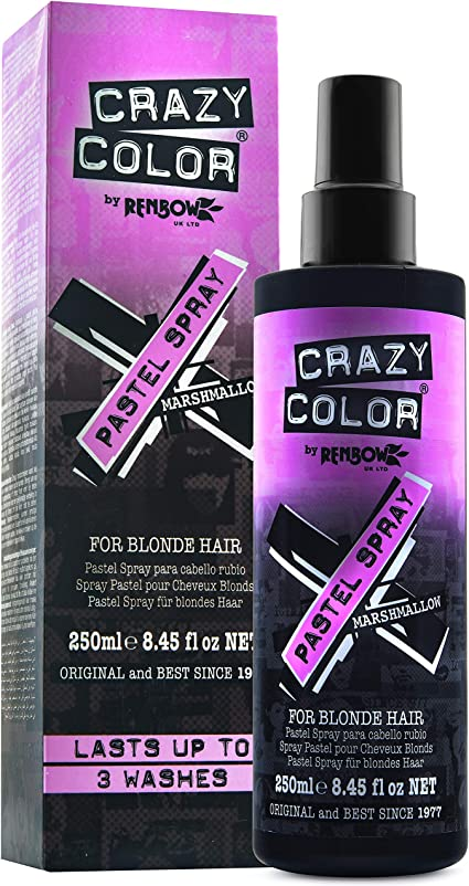 Crazy Color Pastel Spray 250 ml, Malvavisco (23981)