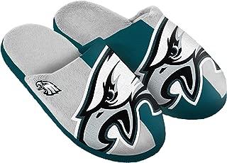 FOCO NFL Unisex Split Color Slide Slipper