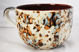Giant Coffee Mugs - Chocolate Mocha Marble