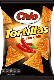Chio Tortilla Chips Hot Chili 6er Pack 6 x 125 g