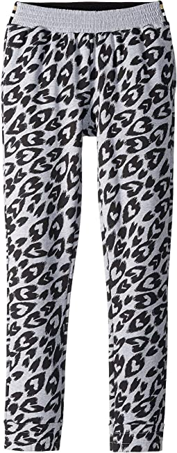 Niamh Heart Cheetah Fleece Jogger (Little Kids/Big Kids)