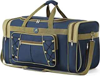 """Travel Duffel Bag65LFoldable Weekender Overnight Bag26"""" Lightweight Oxford Cloth Extra Large Gym Luggage DuffelWater &..."""