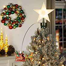 Best mr christmas santa's lighted animated tree top Reviews