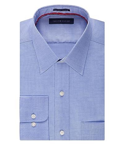 Tommy Hilfiger Dress Shirt Regular Fit Non Iron Solid