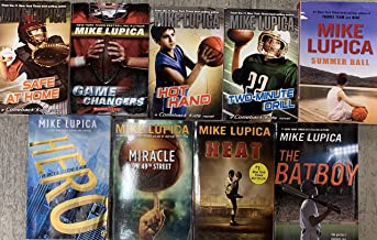 Mike Lupica Sports Fiction Novel Collection 9 Book Set