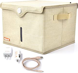UV Light Sanitizer Box - Portable UV-C Light Sterilizer - Large Foldable Box with Carry Bag and Dual Power Adapters – UVC ...