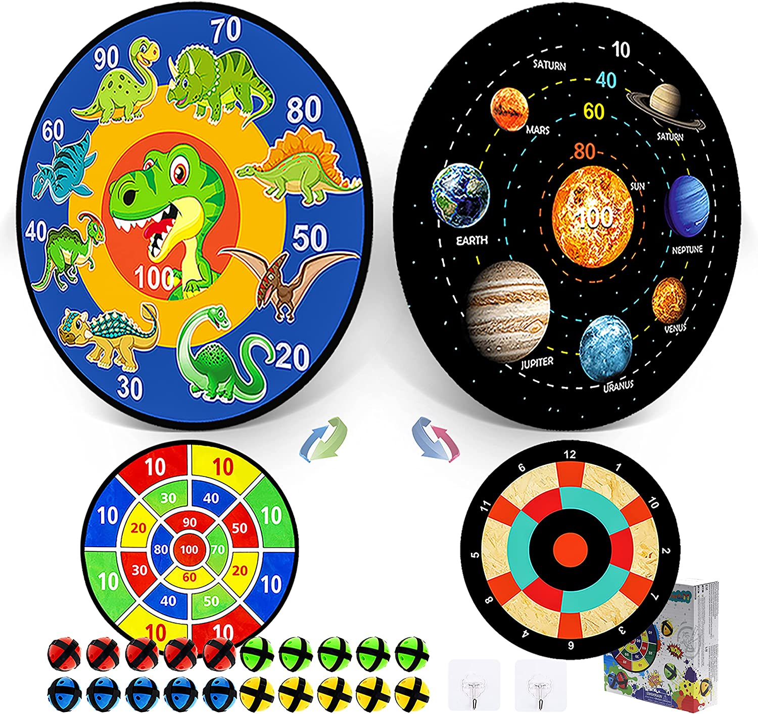 Board Games Kids Toys for 3 4 5 6 7 8 9 10 11 12 Year Old Boys G