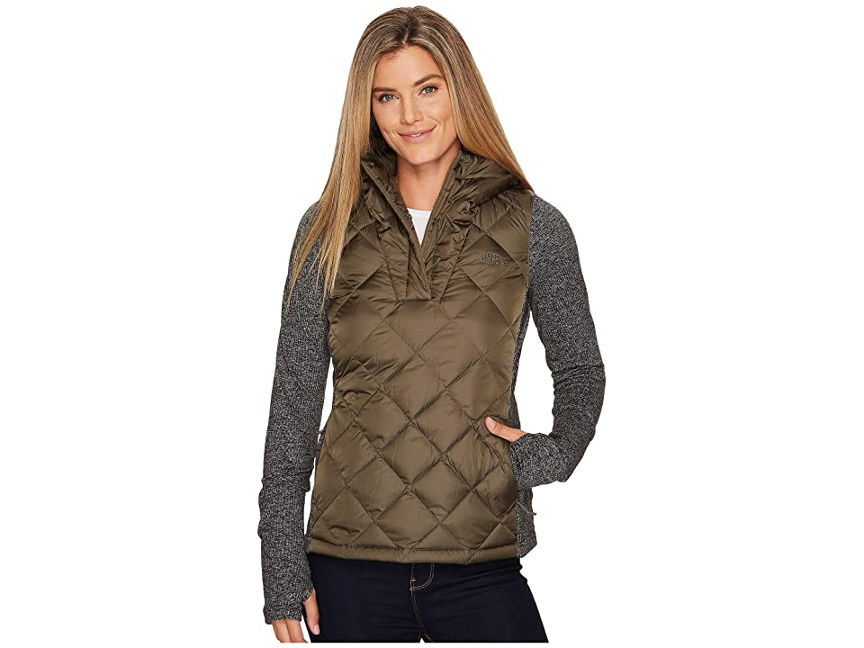 The North Face Harway Hybrid Pullover (New Taupe Green) Women