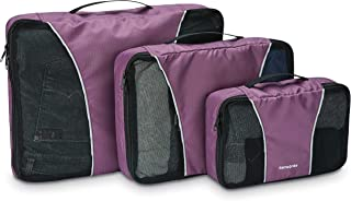 Samsonite unisex-adult 3 Piece Packing Cube Set Travel Tote