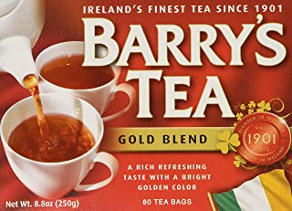 barry's tea gold blend caffeine