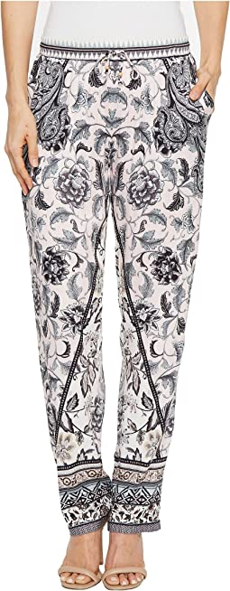 Hale Bob Simply Irresistible Stretch Satin Pants