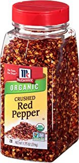 McCormick Organic Crushed Red Pepper, 7.75 oz