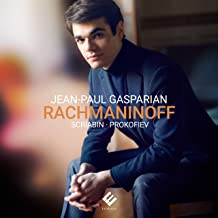 Jean-Paul Gasparian: Rachmaninoff/Scriabin/Prokofiev