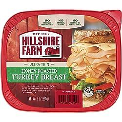 Hillshire Farm Ultra Thin Sliced Lunchmeat, Honey Roasted Turkey Breast, 9 oz.