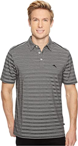 Tropicool Tides IslandZone Striped Polo