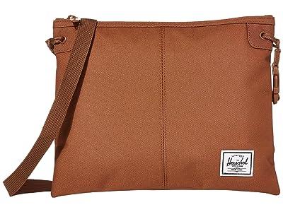Herschel Supply Co. Alder (Saddle Brown) Cross Body Handbags