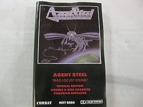 Agent Steel- Mad ,Locust Rising {Audio Cassette}
