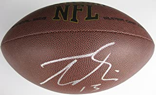 Trevor Siemian, Minnesota Vikings, Denver Broncos, Northwestern, Signed, Autographed, NFL Football, a Coa with the Proof Photo of Trevor Signing Will Be Included with the Football