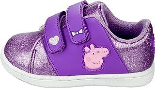 Peppa Pig Toddler Girls Hook and Loop Strap Sneakers