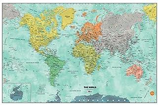 WallPops WPE1761 Aquarelle Dry Erase, Multicolor