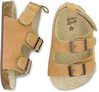 infant boy brown sandals