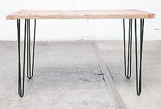 Industrial By Design Hairpin Legs, Industrial Strength, Mid Century Modern, Three-Rod, 28