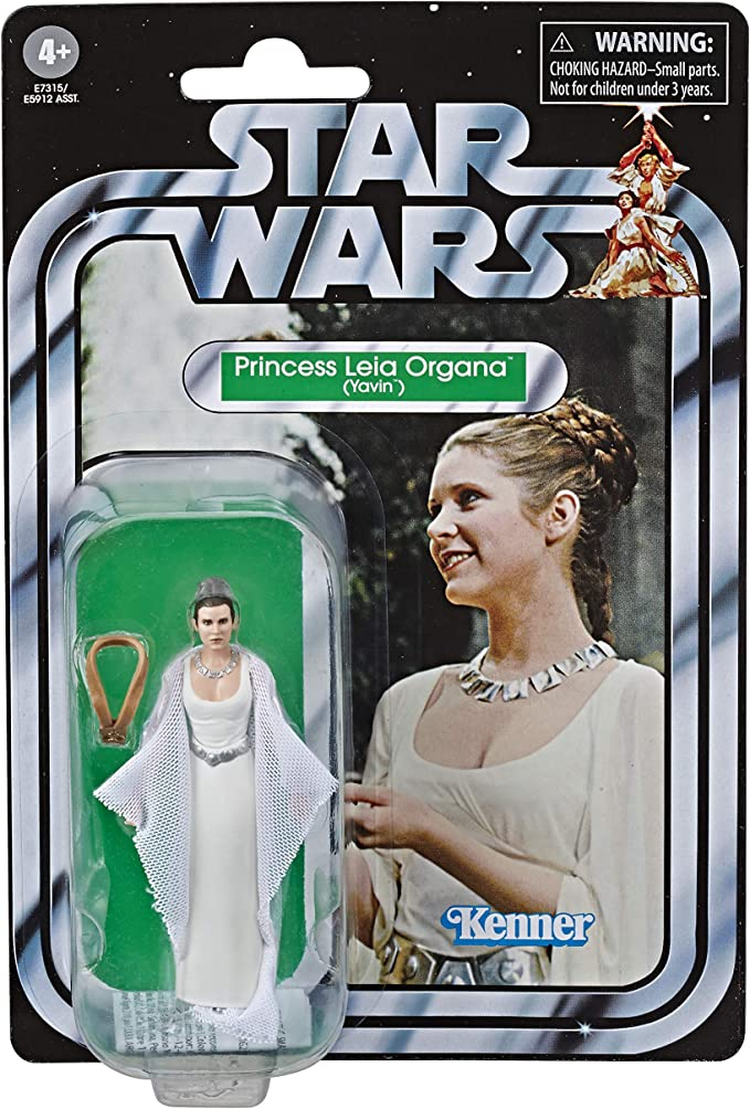 Hasbro Star Wars Retro Collection Episode IV A New Hope Princess Leia 3.75-Inch-Scale Action Figure for sale online