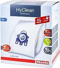 Miele Hyclean 3D Efficiency XL GN Dustbags - 8x Miele Hyclean 3D GN Vacuum Bags + 2x Motor Filter, 2x Super Air Clean filter