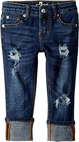 7 For All Mankind Kids - Josephina Boyfriend Jeans in Duchess (Little Kids)
