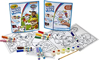 Crayola Color Wonder Paw Patrol Coloring Kit, Mess Free, Amazon Exclusive, Over 60Piece, Gift (Amazon Exclusive)