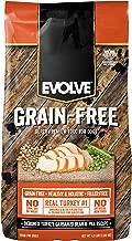 Evolve Super Premium Grain Free Dog Food Diets Deboned Turkey, Garbanzo Bean, & Pea