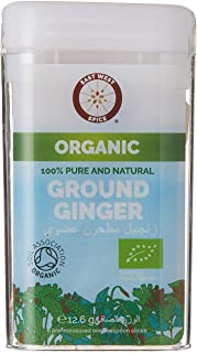 EAST WEST SPICE/ORGANIC 12.6g GINGER GROUND