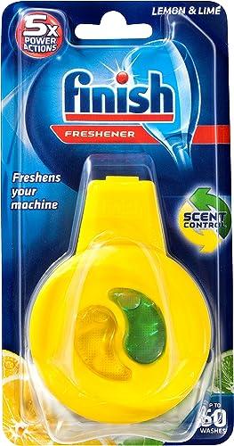 Finish Clip On Dishwasher Freshener Lemon & Lime