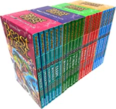 Beast Quest Series 7 - 10 Box Sets 24 Books Collection (Series 7 Books 1 -6, Series 8 Books 1 - 6, Series 9 Books 1 - 6, S...