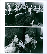 Vintage photo of Silvana Mangano as Reverend Mother Ramallo, J252;rgen Prochnow as Duke Leto Atreides, and Dean Stockwell as Dr. Wellington Yueh in the scenes from the film