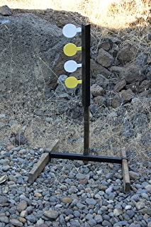 Deschutes Metal Works Rimfire Dueling Tree Target AR500 Four Paddle Set