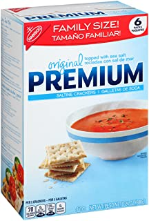 Original Premium Saltine Crackers, Family Size, 24 oz
