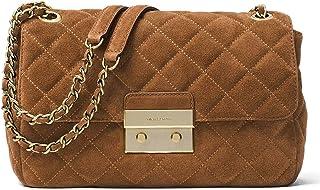 87e6d0d7f594fb Michael Michael Kors Sloan Large Suede Shoulder Bag, Dark Caramel