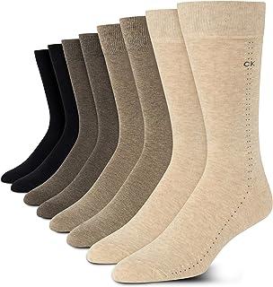 Men's Dress Socks - Lightweight Cotton Blend Crew Socks...