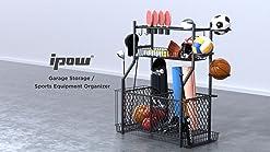 BSN Sports 16 Ball Cart Wide Base White 16 Balls