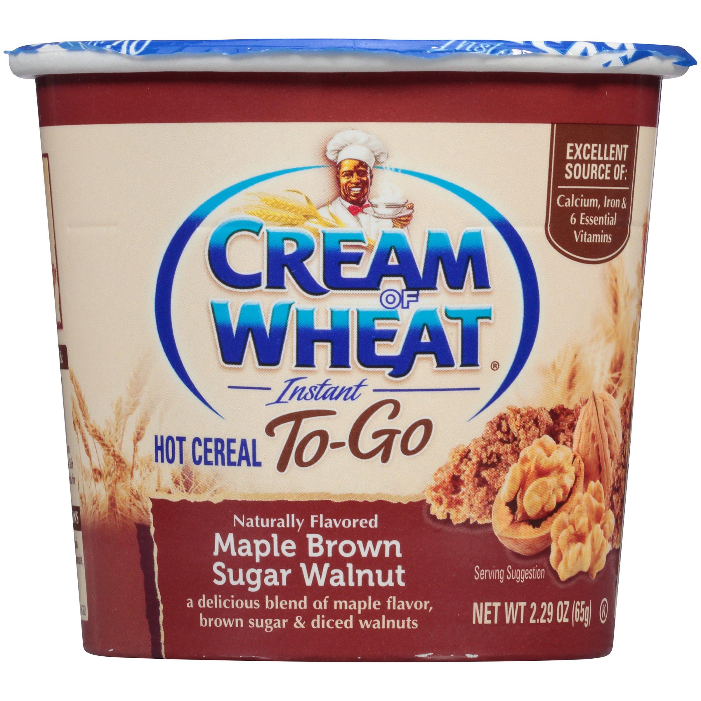 Cream Wheat Cereal Maple Walnut