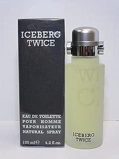 Iceberg Twice By Iceberg For Men. Eau De Toilette Spray 4.2 Ounces Iceberg