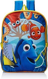 Little Boys Finding Dory Mochila con bolsa de almuerzo, azul (Azul) - DJ27364-SC-BL