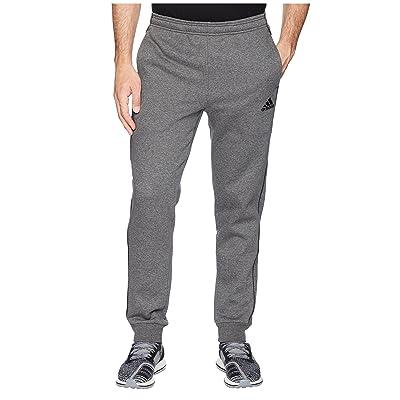 adidas Core 18 Sweatpants (Dark Grey Heather/Black) Men