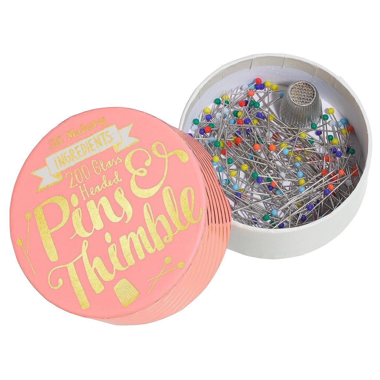 The Makery MAKE-002 Thimbles Pins, Multi