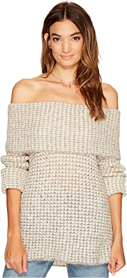 BB Dakota - Tegan Off the Shoulder Sweater