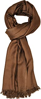 Aimee Unisex Brownish Pashmina Scarf for Men & Women