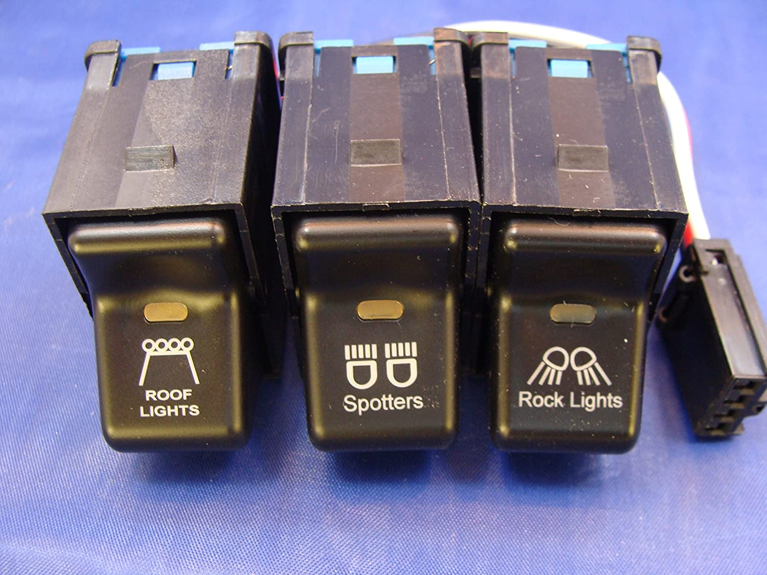Fits Jeep 1997-2006 TJ Our shop OFFers the best service Wrangler Rocker Kit- Soldering 3 Switch Roof